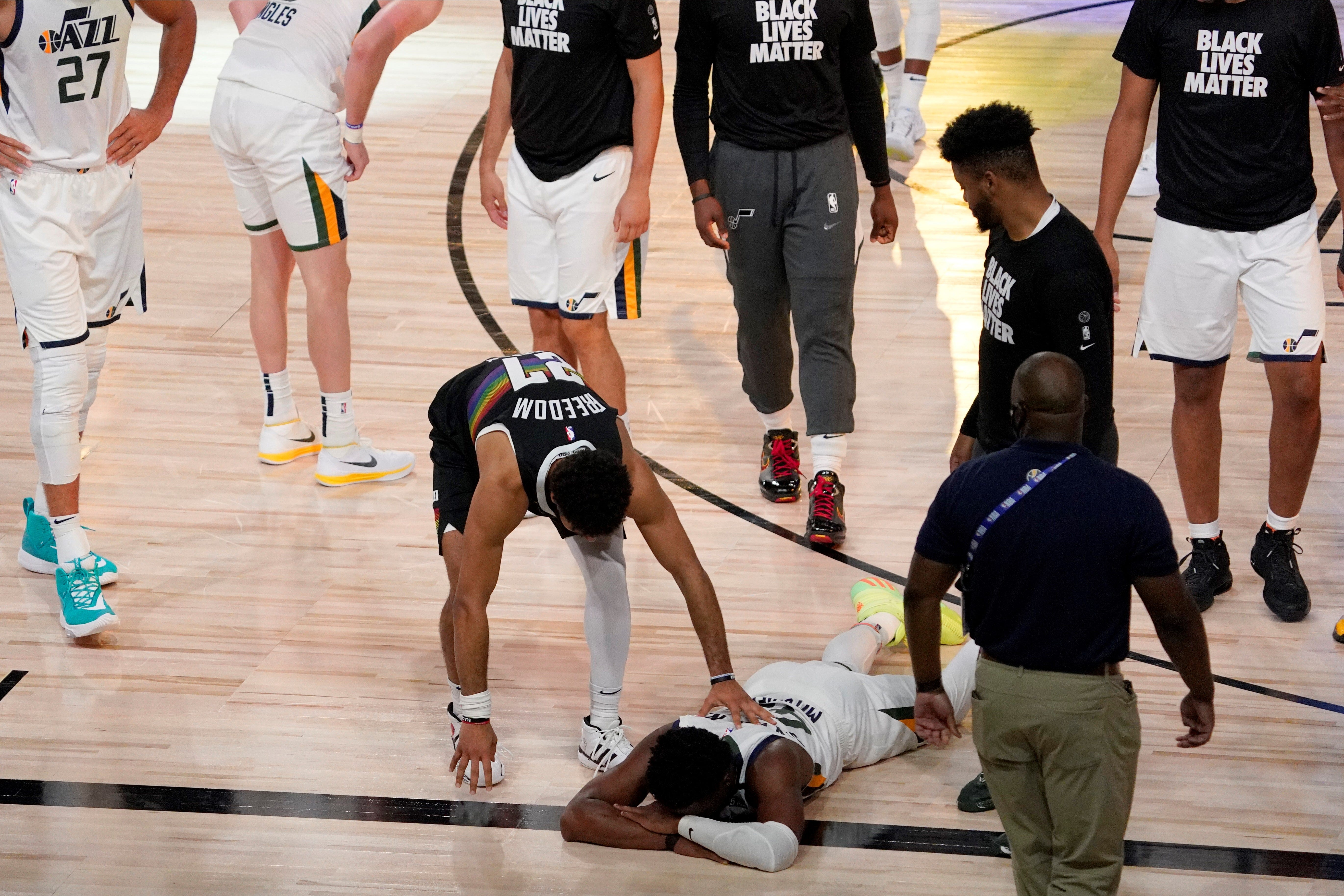 Motivating factor: Utah's Donovan Mitchell sees silver lining in last year's early exit to Denver