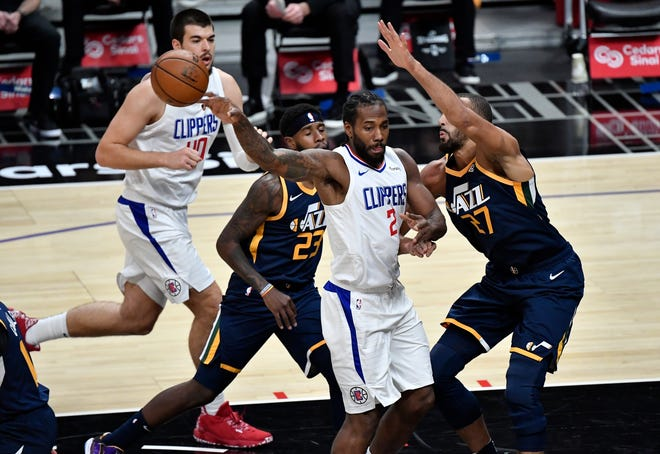 Will the Los Angeles Clippers steal Game 1 of their NBA playoffs series against the Utah Jazz?