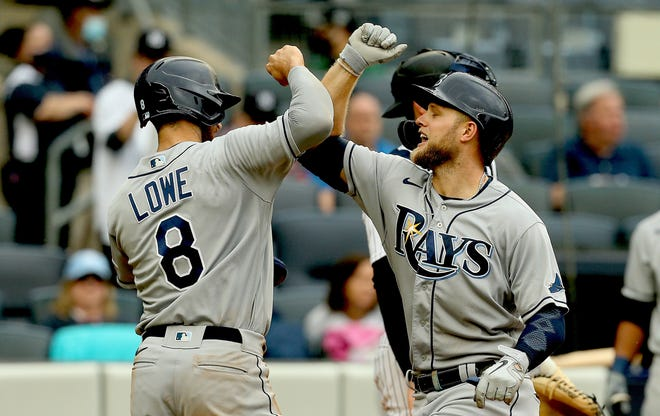 Brandon Lowe and Austin Meadows are powering the Tampa Bay offense.