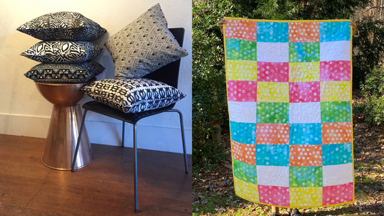 Shop handmade throw blankets, headwraps, candles and more at Show & Tell.