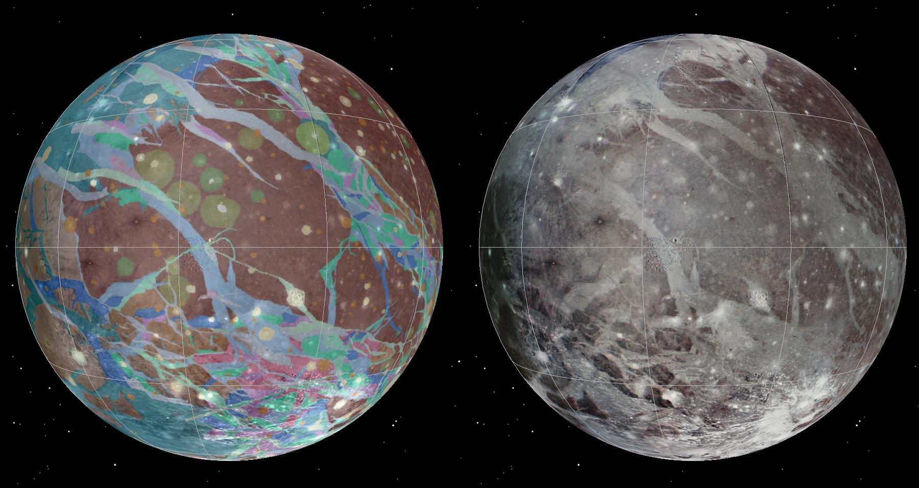 A wild ride : NASA spacecraft Juno flies by Jupiter s moon Ganymede