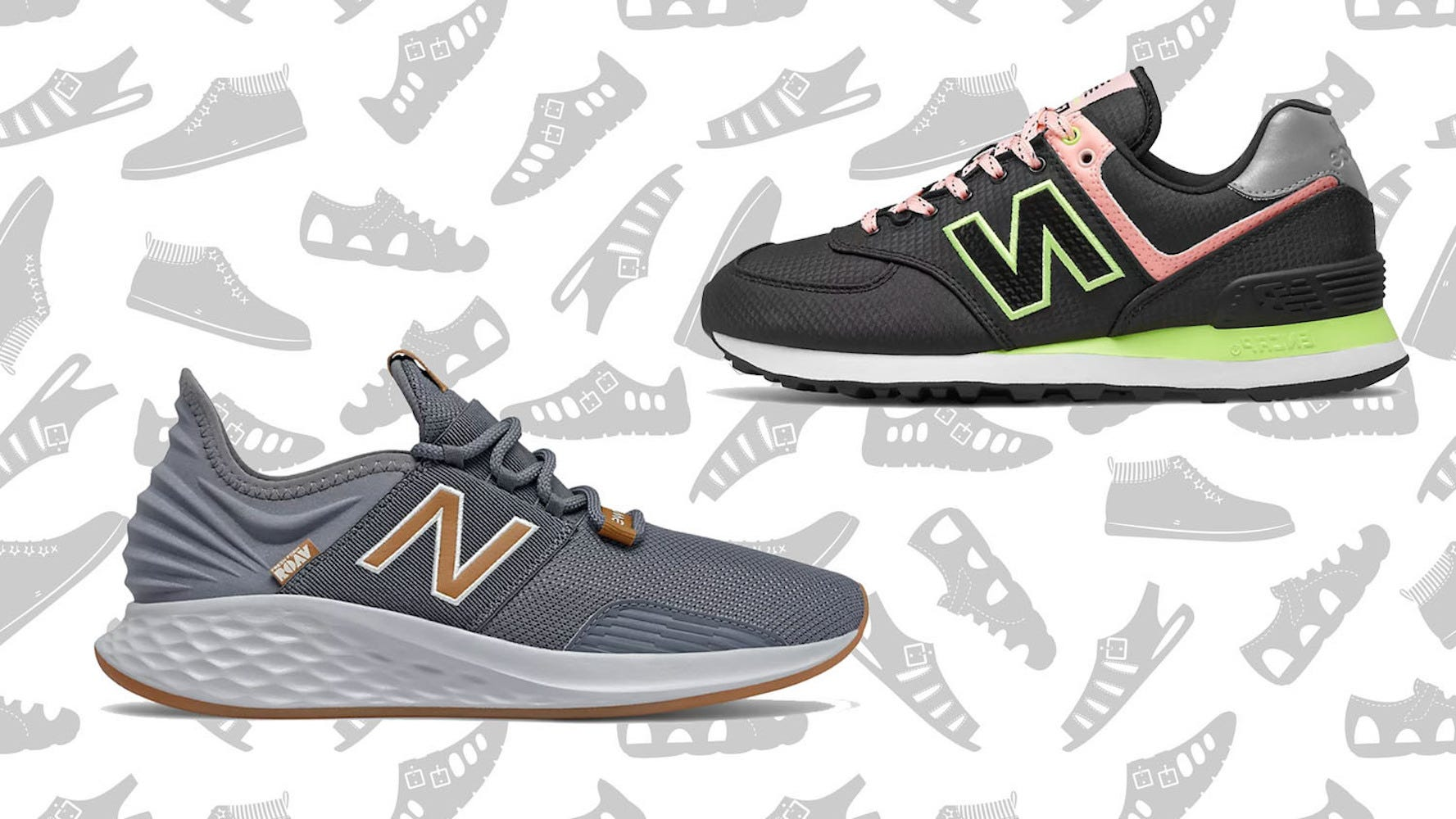 New Balance sneakers: Shop the store's semi-annual sale for up to ...