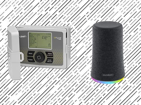 Start your week off right with top-rated products, from a mini speaker to a sprinkler controller, on sale at Amazon.