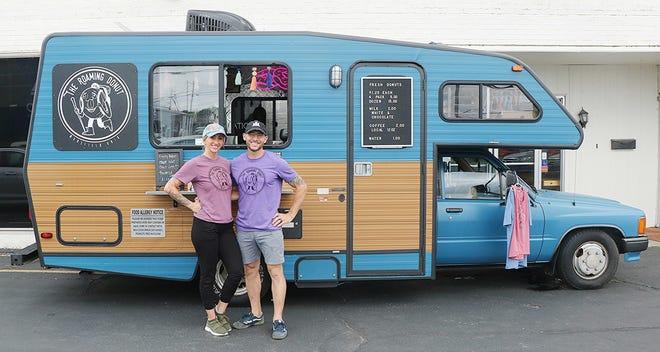The Roaming Donut owners Katrina and Brenton Burgess