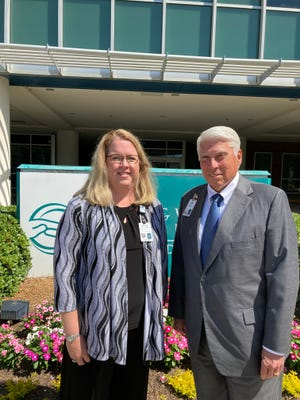 Reyne Gallup, left, and Jim Davis of University Hospital saw a need for medical detox in Augusta and are bringing that service to their hospital in July.