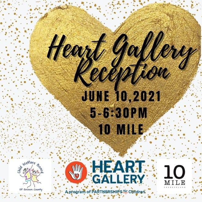 Heart Gallery reception