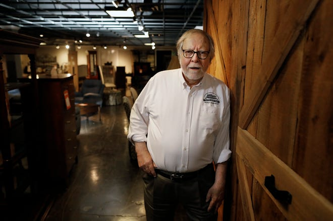 Jon Kundtz owns Hilliards Furniture Company in Dublin, which plans to close Wednesday after 68 years in business.