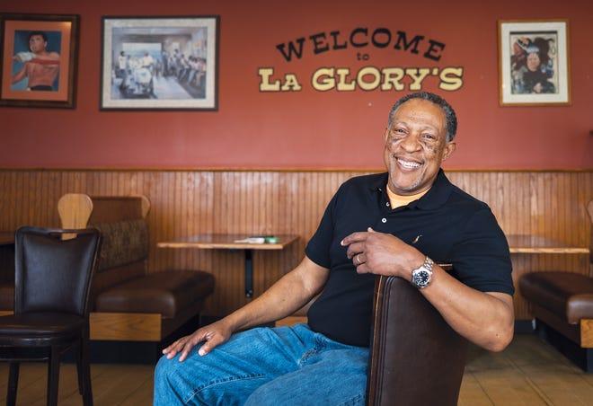 Owner Marc Bradley at LaGlory's Soul Food Café