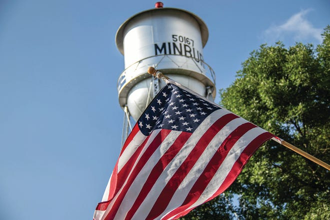 The city of Minburn has issued a precautionary bottled water advisory after the town lost pressure Monday following a water main break.