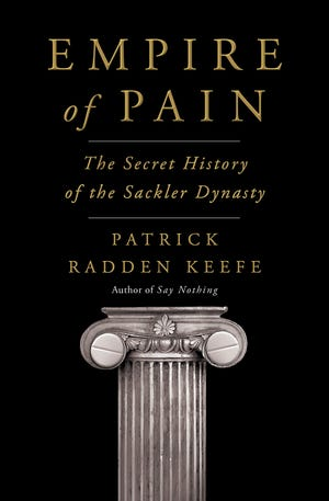 """""""Empire of Pain"""" by Patrick Radden Keefe"""