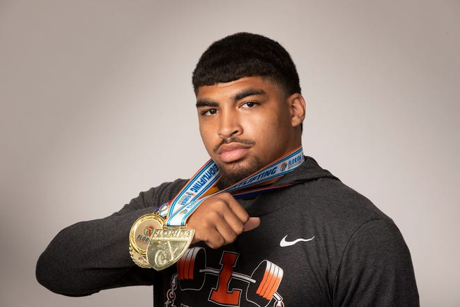 """Carlisle """"Champ"""" Johnson of Lakeland is The Ledger's 2021 weightlifter of the year."""