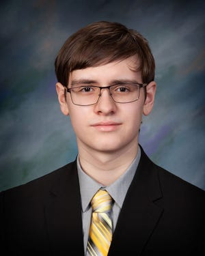 Trenton Burns was the valedictorian for the Keyser High School Class of 2021.