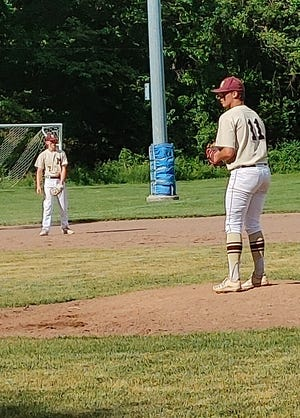 Millbury pitching held strong against Northbridge in the first five innings.
