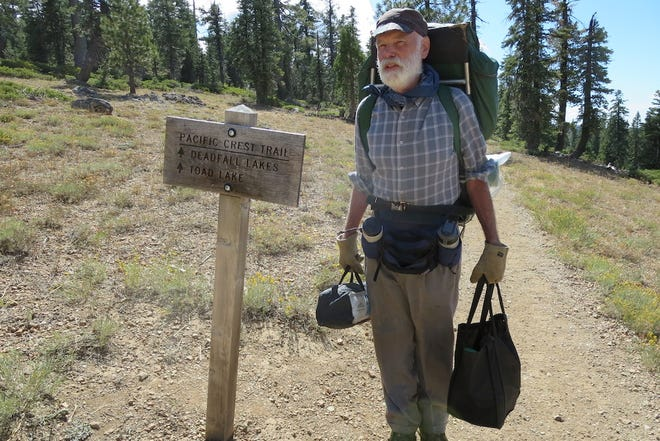 Tim Holt on the Pacific Crest Trail.