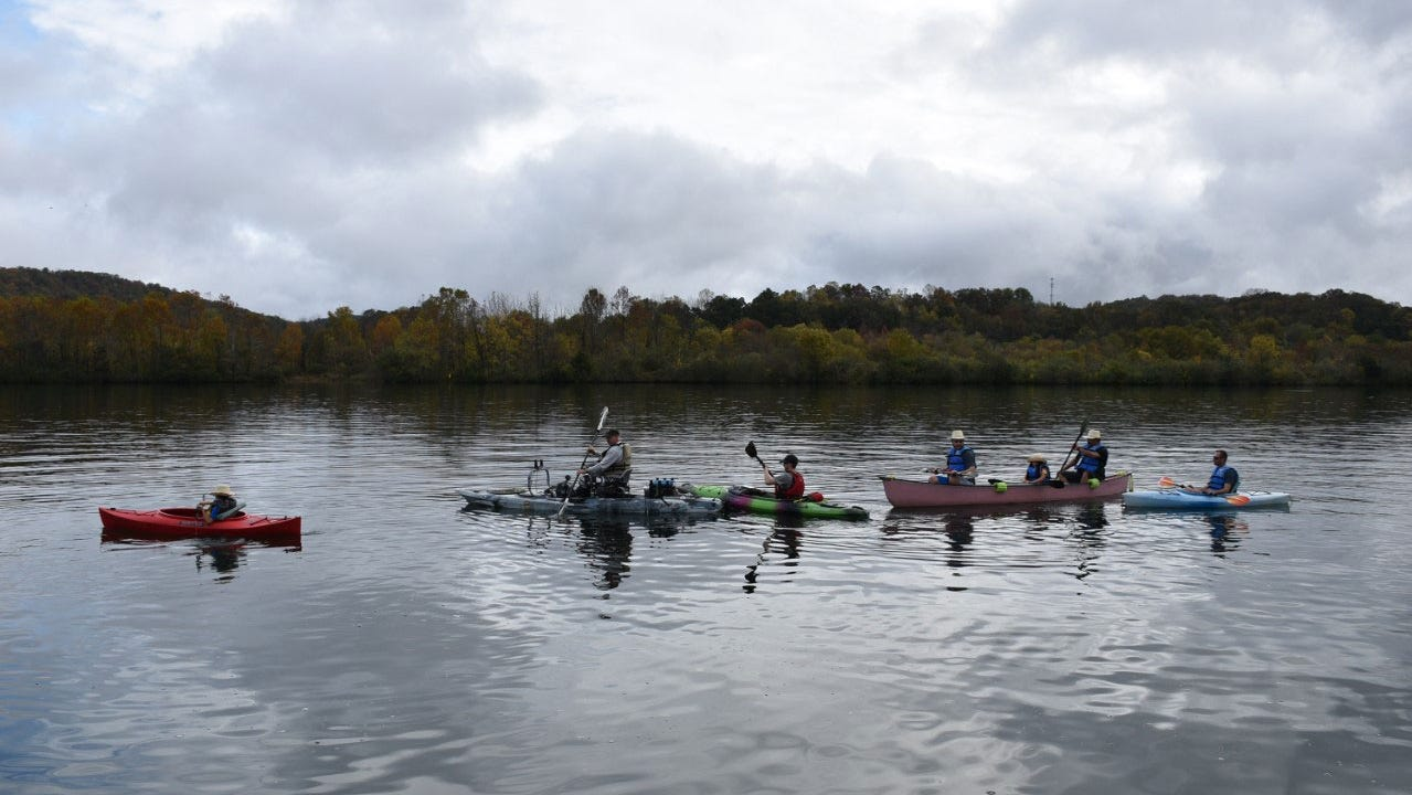 Paddle with a Ranger along the Clinch River Saturday