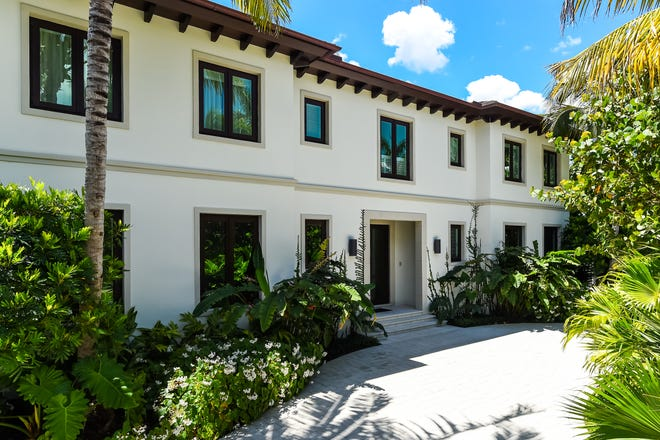 Completed in 2017, a custom home at 250 Palmo Way in the North End of Palm Beach has sold for a recorded $17 million.