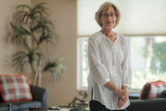 Judy Kalb in a portrait at her home in unincorporated Palm Beach County, Fla., on Tuesday, June 8, 2021.
