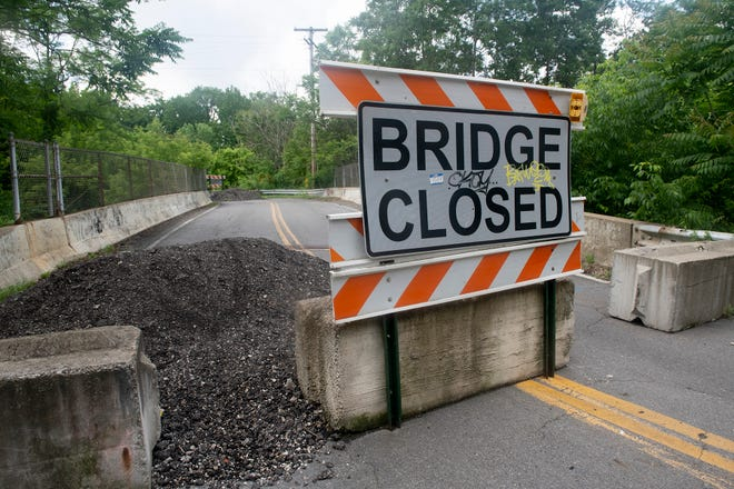 The bridge on Ravenna Road in Franklin Township is slated to be repaired in the next two years.