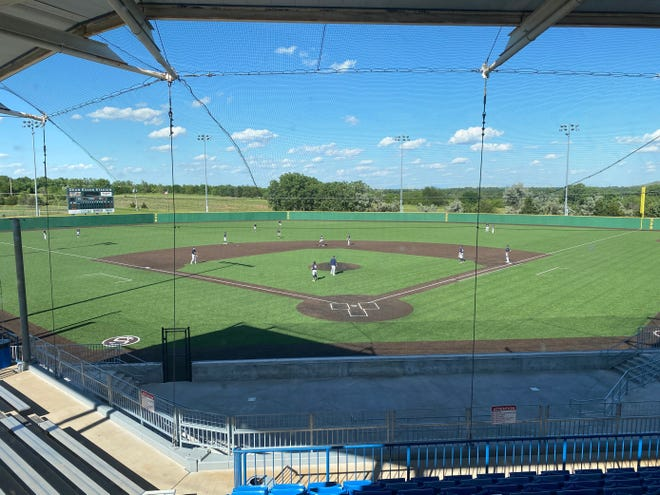 The pavilion at Dean Evans Stadium has been named the John and Kim Vanier Family Pavilion after unanimous approval by the Salina City Commission during its meeting on Monday. The pavilion sits behind home plate.