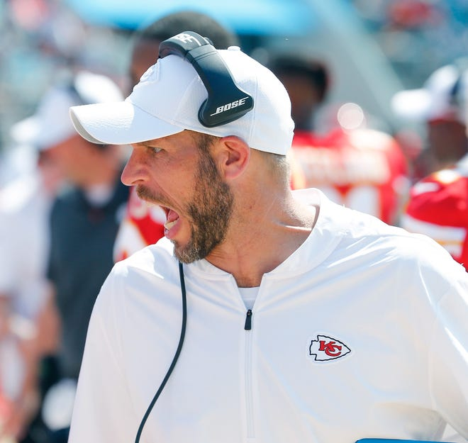 Former Kansas City Chiefs assistant coach Britt Reid pleaded not guilty Monday to a charge of driving while intoxicated.