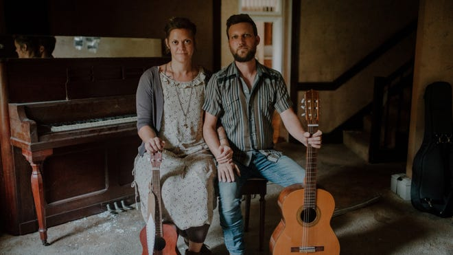 The Rough and Tumble — Mallory Graham and Scott Tyler —  performs Saturday at Wild Rose Moon Performing Arts Center in Plymouth.