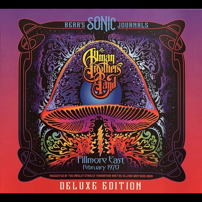 """""""Bear's Sonic Journals: Allman Brothers Band Fillmore East February 1970 Deluxe Edition"""" comes out June 18, 2021."""