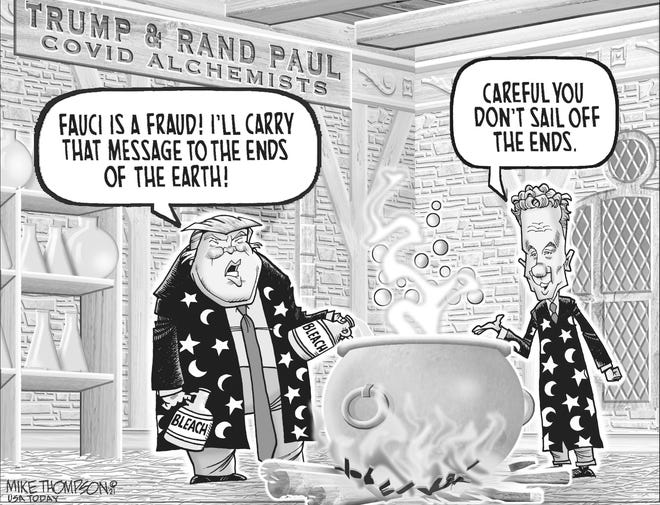 Trump and Rand Paul still accusing Dr. Fauci of being a fraud