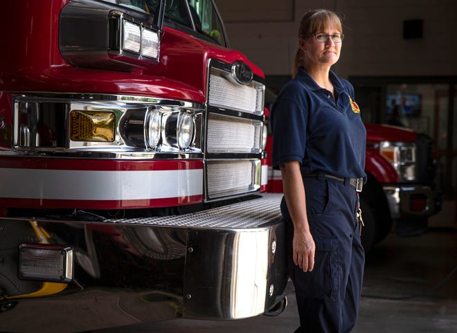 Springfield Fire Department Capt. Cristy Long was the second woman to become a firefighter for the department in 1998 and was the first to reach the rank of captain in 2010.