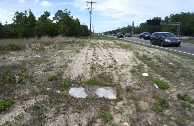 Thompson Thrift Development Inc. is looking to have the property along 6124 Carolina Beach Road rezoned for a proposed 300-unit apartment complex that would be named Watermark at Wilmington.