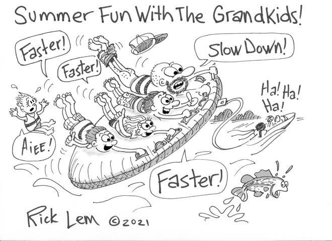 Rick Lem's cartoon