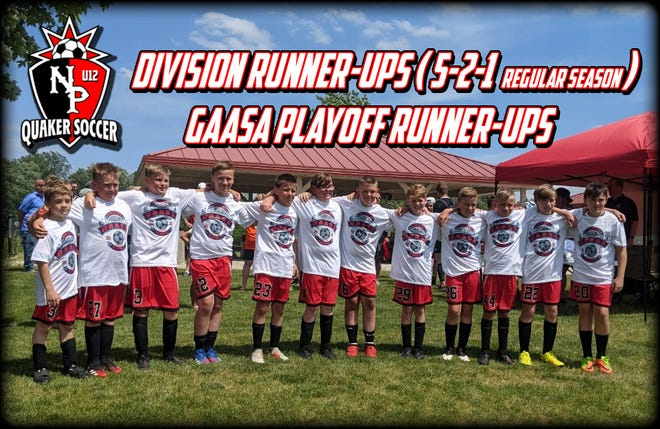 New Philadelphia U12 soccer division, playoff runner-ups