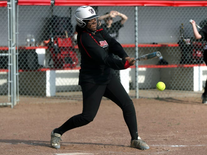 Shyaira Johnson and Whitehall finished 2-8 overall and 1-7 in the MSL-Ohio, but one of those wins came in the postseason. The Rams defeated Marion-Franklin 13-9 in the first round of the Division II district tournament.