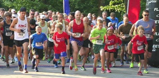 The Westerville Independence Day celebration will start with a 5K run/walk at 8 a.m. at the Westerville Sports Complex, 325 N. Cleveland Ave. A fun run for children will follow at 9:15 a.m..