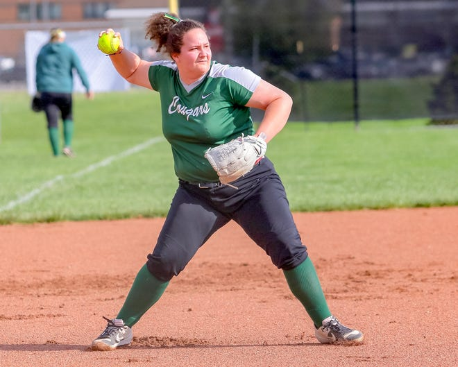 Senior Melina Morleyplayed catcher and third base for Westland, which finished 2-18 overall and 0-10 in the OCC-Ohio Division. Morley was honorable mention all-league.