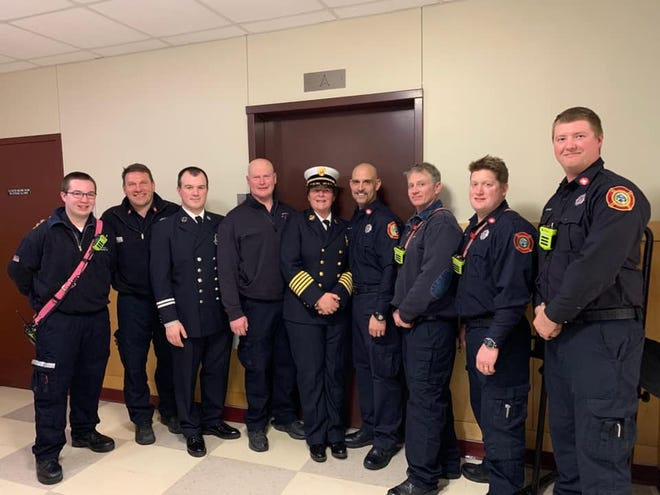 The Topsfield Fire Department has received a Small Town Hero Award from the Masconomet Med Club.