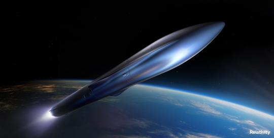 Il razzo Terran R di Relativity Space dovrebbe volare dalla Cape Canaveral Space Force Station entro il 2024.