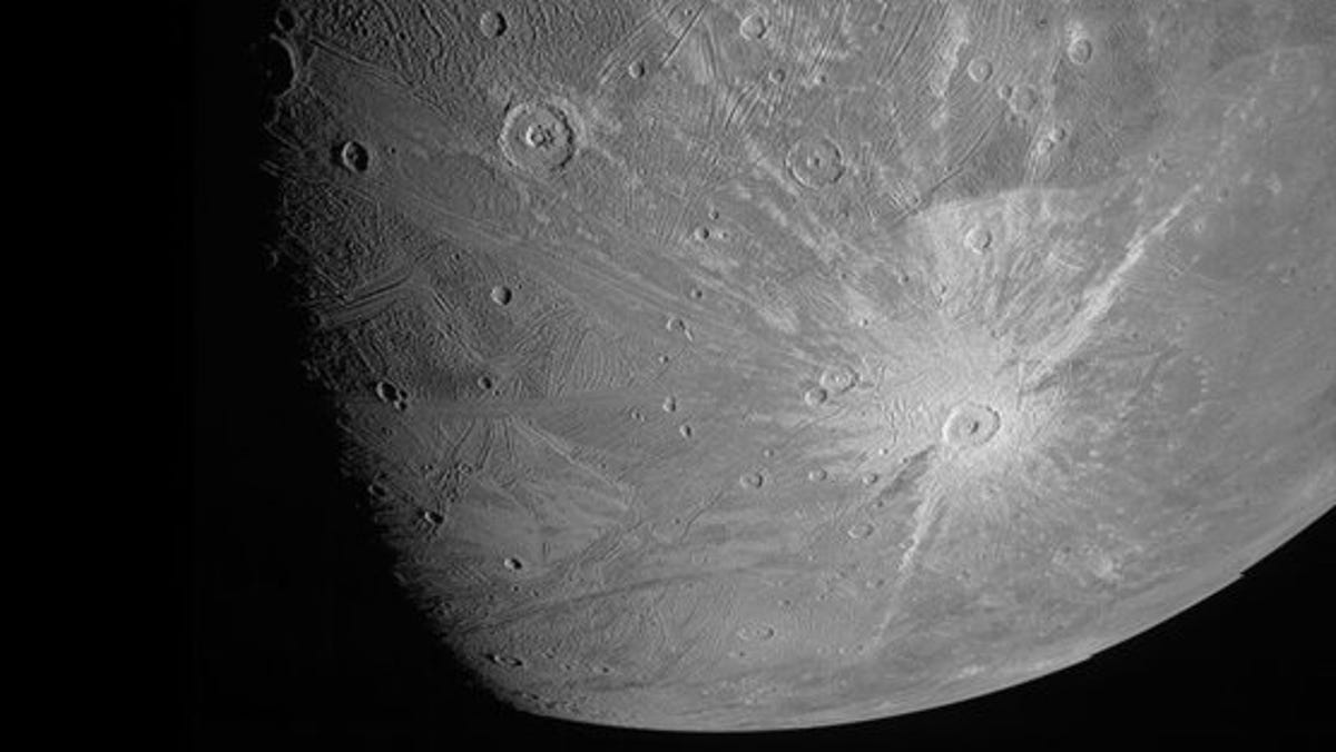 Spacecraft buzzes Jupiter's mega moon, 1st close-up in years 2