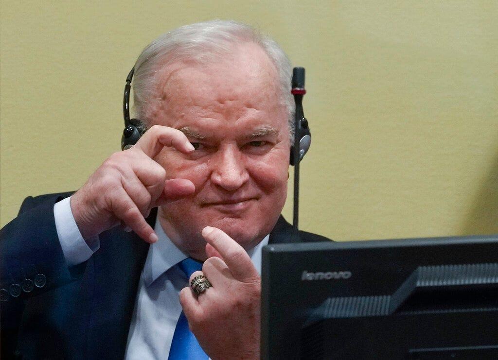 Serb military chief Ratko Mladic's conviction upheld 2
