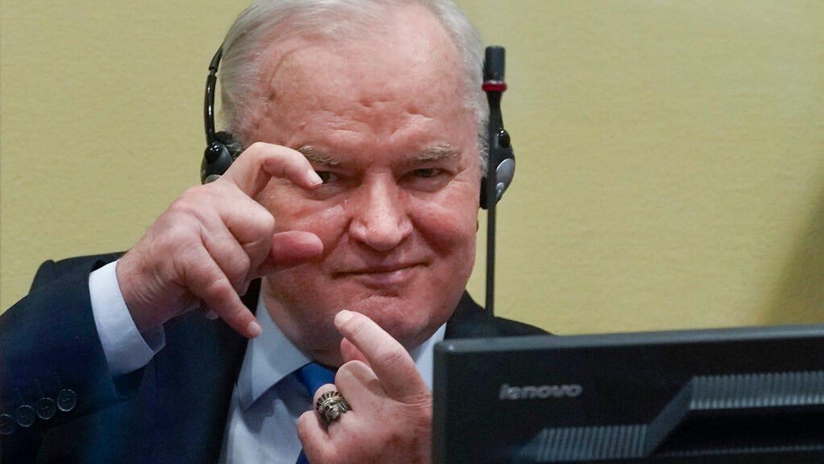 Serb military chief Ratko Mladic's conviction upheld 3