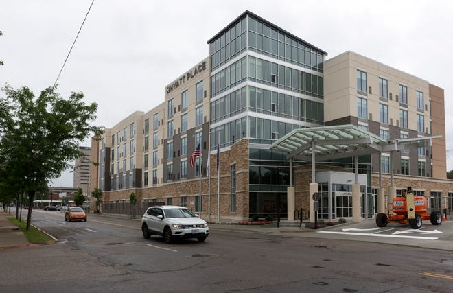 Hyatt Place in Downtown Evansville is set to open soon after more than three years of construction. The 139-room hotel is located at Southeast Second and Chestnut streets.