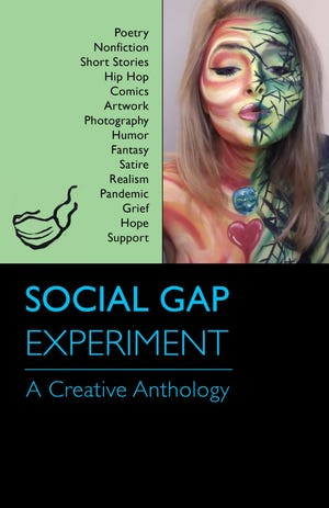 Social Gap Experiment features poetry, fiction, prose, illustrations and photography by Michigan residents and MSU alumni, as well as creators from four other states.