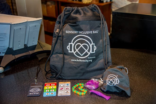 Sensory inclusive bags at the Milwaukee County Zoo include noise-canceling headphones and other items to help people with sensory processing needs.