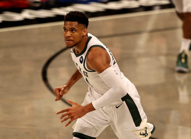 Giannis Antetokounmpo and the Bucks might not be in the driver's seat despite Brooklyn's injuries.
