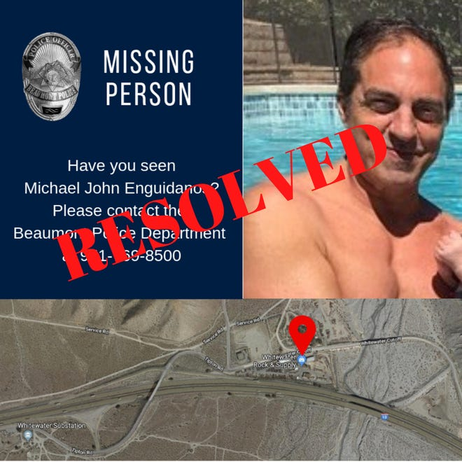 The remains of Michael Enguidano, reported missing in 2018, have been found and identified.