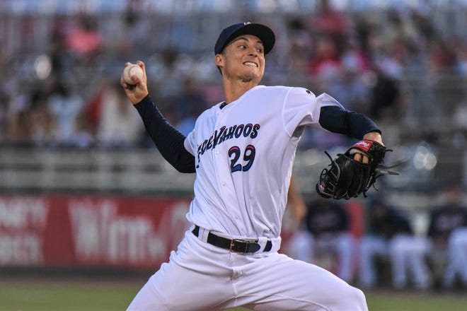 Former Blue Wahoos pitcher Griffin Jax will make baseball history as the first Air Force Academy graduate to appear in a Major League game. Jax pitched in Pensacola in 2019.