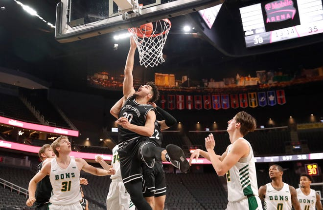 Grand Canyon, led by forward Gabe McGlothan (pictured), will be playing San Francisco on Dec. 18 in the four-game Jerry Colangelo Classic at Phoenix Suns Arena. Photo courtesy of GCU Athletics