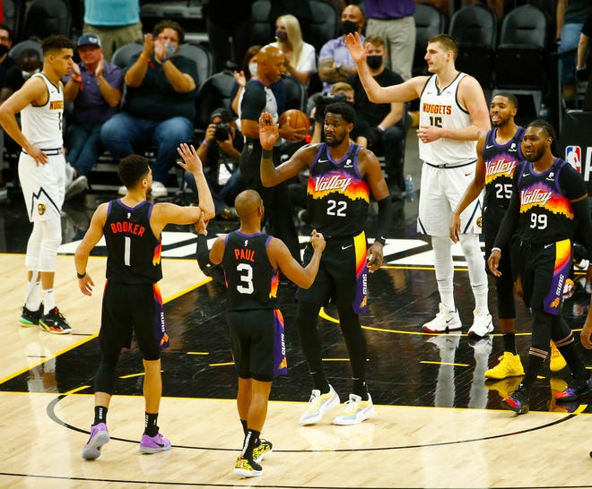 Will the Phoenix Suns beat the Denver Nuggets in Game 2 of their NBA playoffs series on Wednesday night?