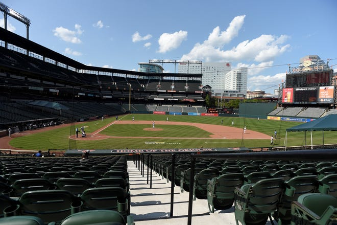 Empty seats at Camden Yards have become a familiar site this season for Baltimore Orioles games.