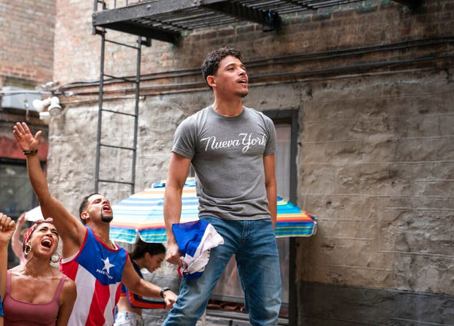 """Anthony Ramos stars in """"In the Heights."""" The movie opens Friday at Regal West Manchester, Queensgate Movies 13 and Hanover Movies 16."""
