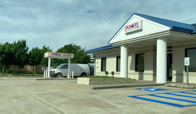 Police investigated a reported theft of an ATM Tuesday at the Postel Credit Union on McNiel Avenue.